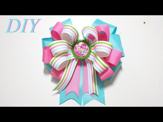 Como Hacer Lazos 🎀 DIY 60 Lazo inspirado en Mi Pequeño Pony Tutorial