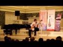 Выступление на гала-концерте XIV международного конкурса Виртуозы гитары- 2017 г. ...