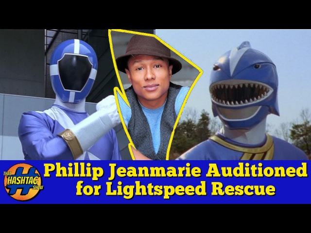 Phillip Jeanmarie From POWER RANGERS Wild Force Originally Auditioned For Lightspeed Rescue