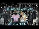 GAME OF THRONES - Jon Snow The White Wolf - REACTION