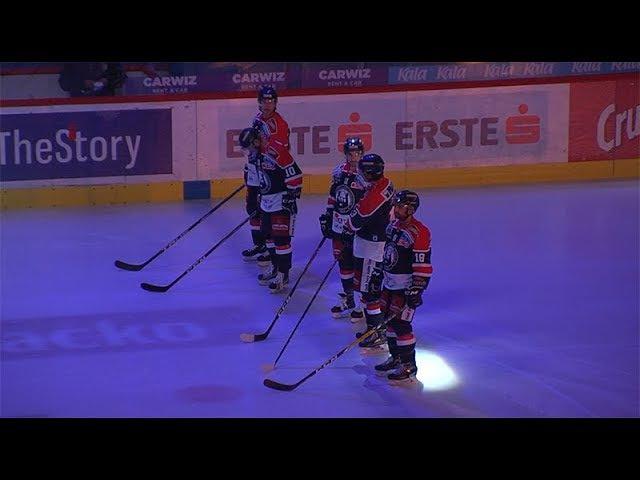 EBEL 9. kolo KHL Medveščak - KAC 5:1