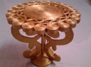 Best Out Of Waste Paper transformed to an elegant table for showpiece