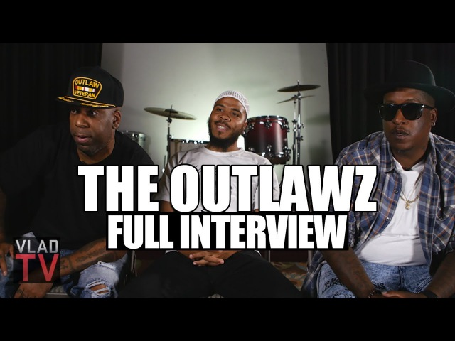 Outlawz on Reuniting, 2Pac Movie, Kadafi's Death, Suge Snoop (Full Interview)