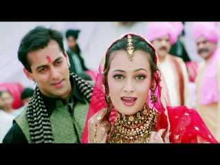 Mehndi Hai Rachi - Full HD Video Song - Salman khan, Dia Mirja - Tumko Na Bhool Payenge