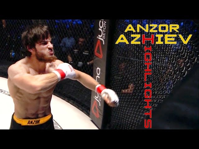 Anzor Azhiev | KSW | HighlightsKnockouts 2017