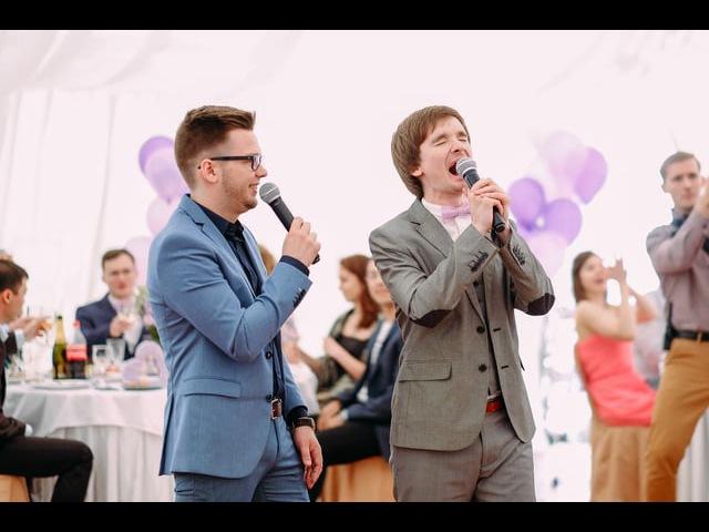 Ведущий Миша Судник свадьба Яны и Максима