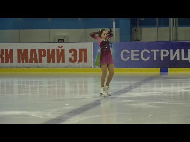 Евгения Иванькова, Кубок России Ростелеком 2017 2018, 2 , MC ПП