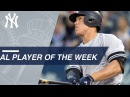 AL Player of the Week: Aaron Judge