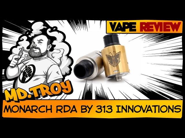MONARCH RDA by 313 Innovations (from parom vapebar) | филиппинская дрипка