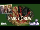 Nancy Drew Secret of the Scarlet Hand Day Three Twitch  HeR Interactive