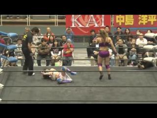 Chardonnay vs. Hiromi Mimura (KAI 10th Anniversary Special Show ~ Yokohama Charity Pro-Wrestling)