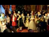 Совместное выступление воскресной школы и ребят, пришедших на Рождественскую елку 7 января 2018 г..mp4