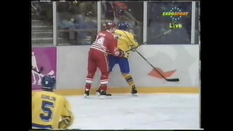Лиллехаммер 1994. Канада - Швеция (21.02.1994)