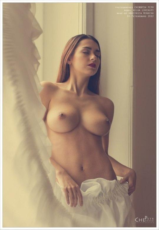 Blonde russian girl nude video