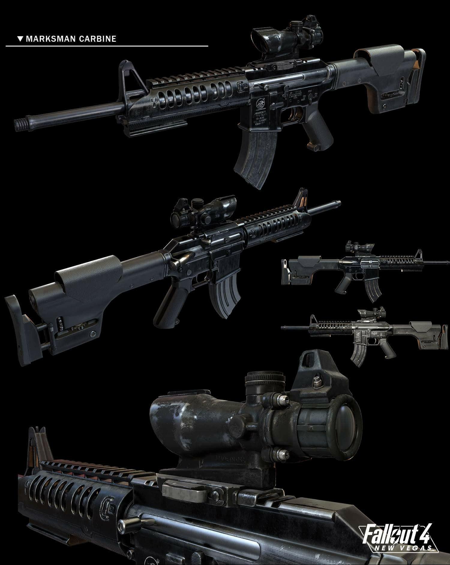 Разработчики Fallout 4: New Vegas продолжают работу над игрой, и на этот раз они предоставили модель оружия:
