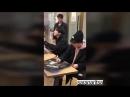 23 02 18 Химчан @ Автограф сессия актеров спектакля 'Ёдо' Himchan Byunghun