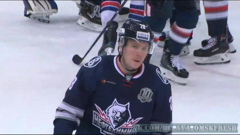 Эрик Густафссон привез победу СКА, получив удаление за 2 мин до конца игры