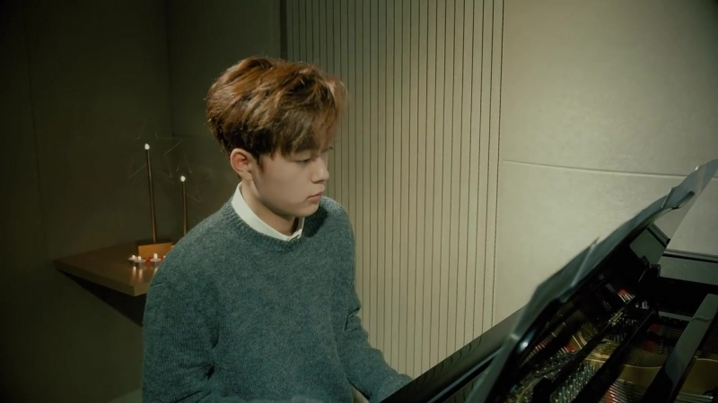 171210 @ Yu Seon Ho - Just The Way You Are | Piano Practice Video