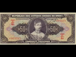 Banknotes Brazil_Paper Money of Brazil