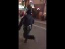 В Нью Йорке полицейские бегом пустились в погоню