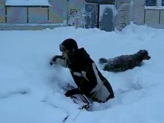 Зима в Видяево