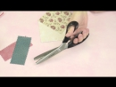 Ножницы AURORA AU 491 портновские зиг-заг (3,5мм) 22 см (ID104985)