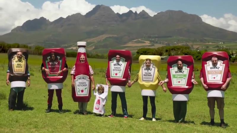 Реклама кетчупа HEINZ
