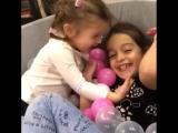 Я всегда хотела сестру, хорошо что моим девочкам, никогда не будет скучно 😂💪