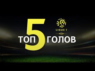ТОП 5 голов 12 тура Лиги 1