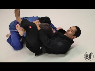 Shin on Shin to Triangle Submission