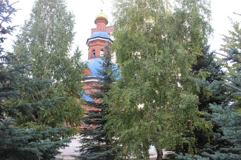 Церковь Святой Великомученицы Татьяны в Оренбурге