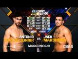 UFC Fight Night Средний вес Антонио Карлос Джуниор — Джек Маршман