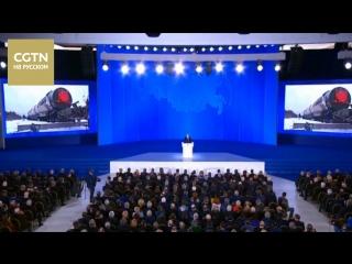 Путин заявил об успешных испытаниях нового оружия