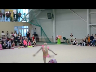 Ульяна Травкина мяч 2016