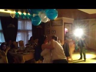 жених и невеста 👰 белый танец
