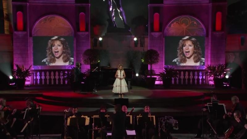Jackie Evancho - Somewhere (feat. Barbra Streisand)