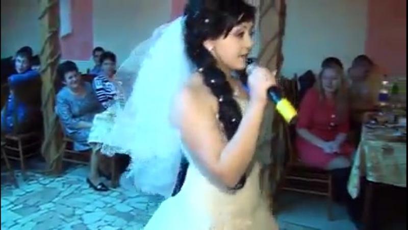 Невеста поёт РЭП для жениха Очень красиво