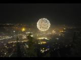 Новый год 2018 на горе в Тбилиси