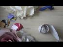 БОЛЬШАЯ РОЗА ИЗ БУМАГИ СВОИМИ РУКАМИ ЗА 1 ЧАС I Подробный мастер-класс от Анны Цветковой