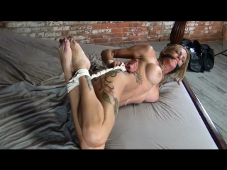 Cleave Gagged Genny Hogtied