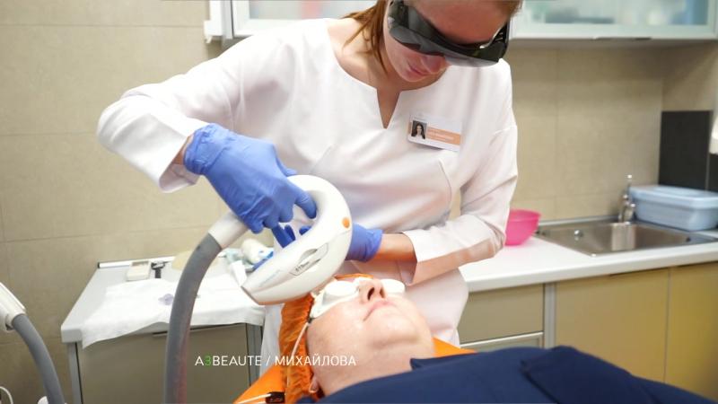 Лечение гиперпигментации на аппарате М22. Врач-косметолог Анна Михайловна Михайлова