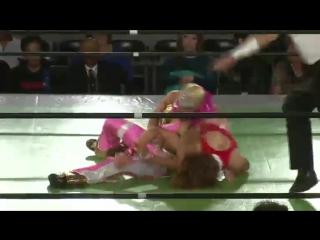 5. Command Bolshoi, Kaoru Ito vs. Rabbit Miyu, Sareee (11/20/15)