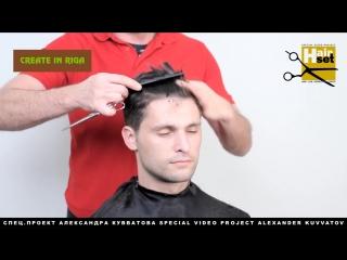 Hair Set # 12 (нейтрализация микстонами, мужская стрижка, каре на ножке - GB, RU) [Full HD 1080p]
