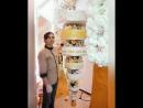 Подвесной торт Люстра