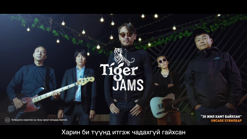 A Sound 30 жил хамт байхсан Uncage version Tiger Jams 2017