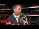 The Miz brags about adding Kane to Team Miz heading into TLC Raw Fallout, Oct. 16, 2017