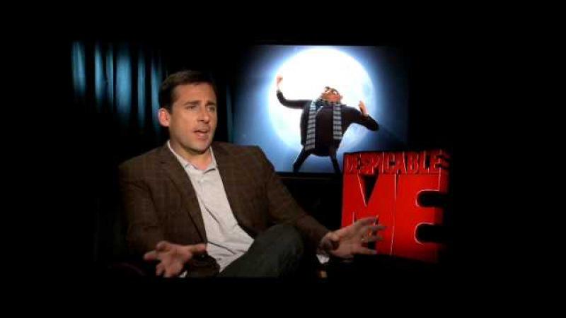 Despicable Me интервью со Стивом Кареллом RUS