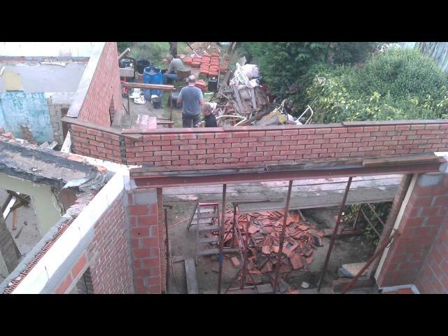 Интересная реконструкция. 3 years Renovation timelapse
