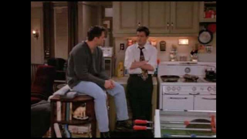 Джо и Чендлер решают где поужинать