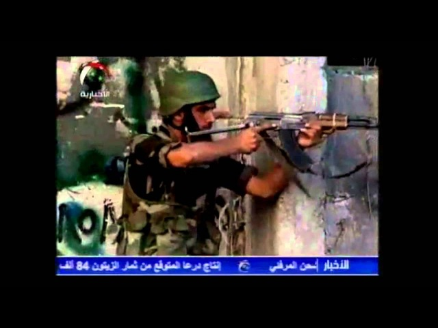 Patriotic Song for the Syrian Arab Army [English Sub]